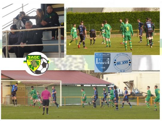 Match contre le Taillan 18 3 18