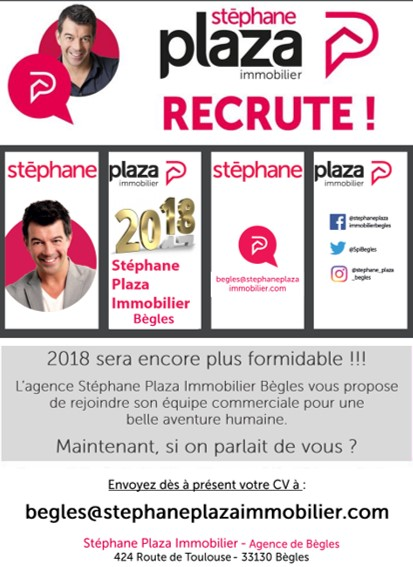 Affiche Recrutement Sylvain Plaza
